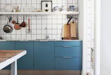 Blue kitchen/ KÉK KONYHÁK