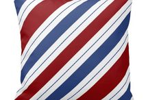 Red, White, & Blue Stripes / Red, White, & Blue Stripes