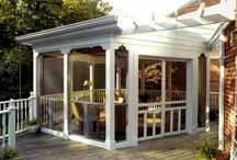 screeneed porch / by Patty Sanders
