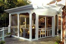 Porches and verandas