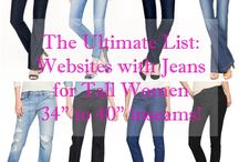 jeans for tall women / by LeeAnn Roberts