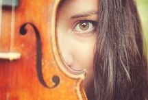 Violin portraits