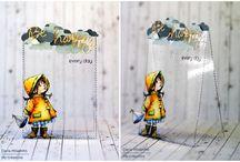 Прозрачные открытки