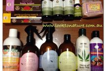 Natural products / www.looktonature.com.au