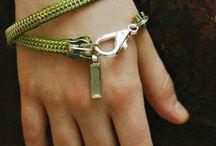 Zipper jewellery / Zippers zippers everywhere / by Sheila d'Haene