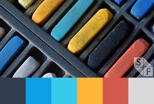 Inspiration - Couleurs, Palettes, Nuances & Dégradés. / Besoin de couleurs <3  / by K. Ryma