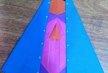"""Santos em Origami. / Origamis feitos com base no livro """" Santo de Casa Dobrando com Devoção """""""