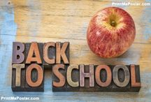 Back To School / Back to School posters, canvas, mousepads