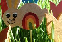 Jarní výzdoba od HaPeHo / dřevěné ručně výběné dekorace http://www.fler.cz/hapeho  Our own original handmade wooden decorations. Handcrafted in the Czech Republic. http://www.fler.cz/hapeho