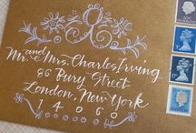 Calligraphy / by Paula Tillett