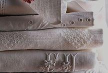 vintage linens / by Sue Franklin