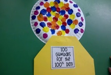Kinder- 100 days of school.