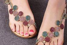 Ladies shoes wear