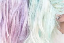 colors hairs