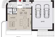 dispozice / Stavba domu, návrhy dispozic