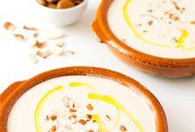 sopas frías ajo blanco