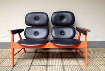 Collezione Sedute / Sedute Poltrone Sedie Vintage arredamento