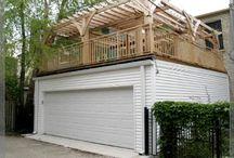 Garage deck