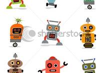 Il.lustracions Robots