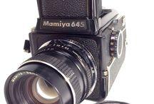 Mamiya M645 Medium Format SLR Film Camera w/Sekor C 70mm F/2.8 E LensJPN
