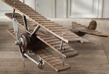 wooden toys/models