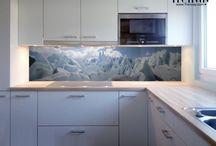 mutfak cam panel