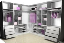 Cupboards and closets
