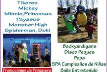 animacionesinfantil1.wix.com/animacionessamuelito / Somos una Productora de Animaciones y Eventos Infantiles, ofrecemos nuestros servicios a empresas y a particulares, tenemos Princesas, Payasos, Piratas, Doki , Ben 10, Backyardigans, Spiderman, Minnie, Mickey, Barney, Pepa, Animadores, Juegos, Danzas, Globoflexia, Monter High, Pinta Caritas, Funciones de Títeres, Cantar  Cumpleaños Feliz, Disco Peques, DJ, Amplificación, Data Show, Micrófonos, Música, Juegos de Luces, Trípodes,  Tel. 25323892 - 92005007