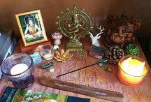 Shiva & Ganesh / Exploring the truth of a dream, the dream of the Light of Shiva.