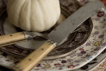 Brown transferware ♥