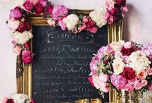 Glamorous Wedding Ideas / A selection of weddings inspired by bling and glamour!