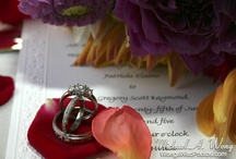 Wedding Rings in Flowers & Other Elements / Wedding Rings inventively photographed in Flowers & Other Elements.
