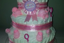 Diaper cakes / by Chelsey Wright