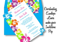 Poly Graphics Invitations / by Darian Poliachik