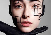 Maquillaje futurista
