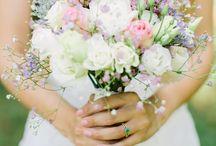 Bridal bouquet boho