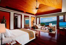 Blissful Bedrooms / Sleepless nights don't exist in these idyllic bedrooms.