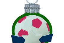 Soccer Christmas Ornaments / by Just Her Sports