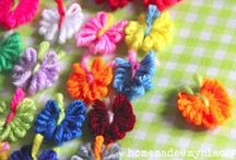 Crochet & Yarn Crafts / by Stacey Glaab Marrazo