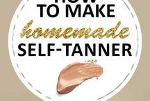 Self tanner diy