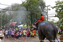 Thailand - Songkran Water Festival / by Kunzum #wetravel