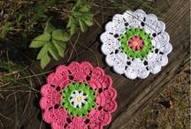 Crochet - Coasters & other round things