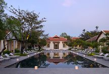 Amantaka / A luxury garden estate hotel in Laos tucked into the heart of Luang Prabang's UNESCO protected old town. Explore Laotain life from a luxurious base.