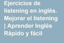 ejercicios de listening en inglés