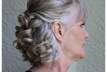 wedding hair mother of the bride