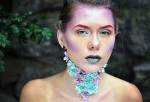AVANT GARDE: Creature / Smink: Ida Forsback Modell: Amanda Dahlkvist