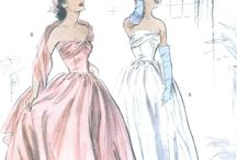 Vintage gowns and classic glamour / Patterns, photos, and inspiration   / by Eugenia Pedley