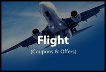 Flight / Get latest deals on Flight tickets. Updated offers and coupons from MakyMyTrip, Yatra, Musafir and all other OTA.