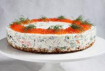 Suolainen juustokakku