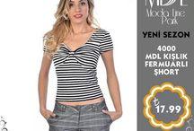 Şort / Son moda, en trend bayan şortları modalinepark.com 'da seni bekliyor.